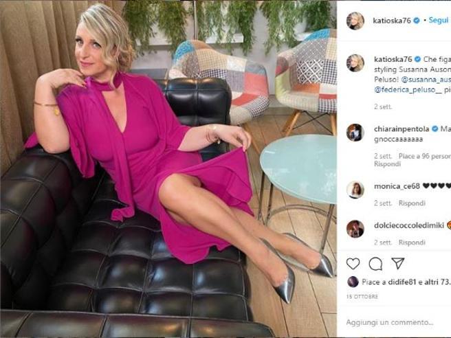 Katia Follesa, gli hater su Instagram: «Magra non fai più ridere»