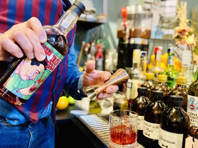 Il brandy Villa Zarri per il più godurioso dei Negroni. Da collezionare