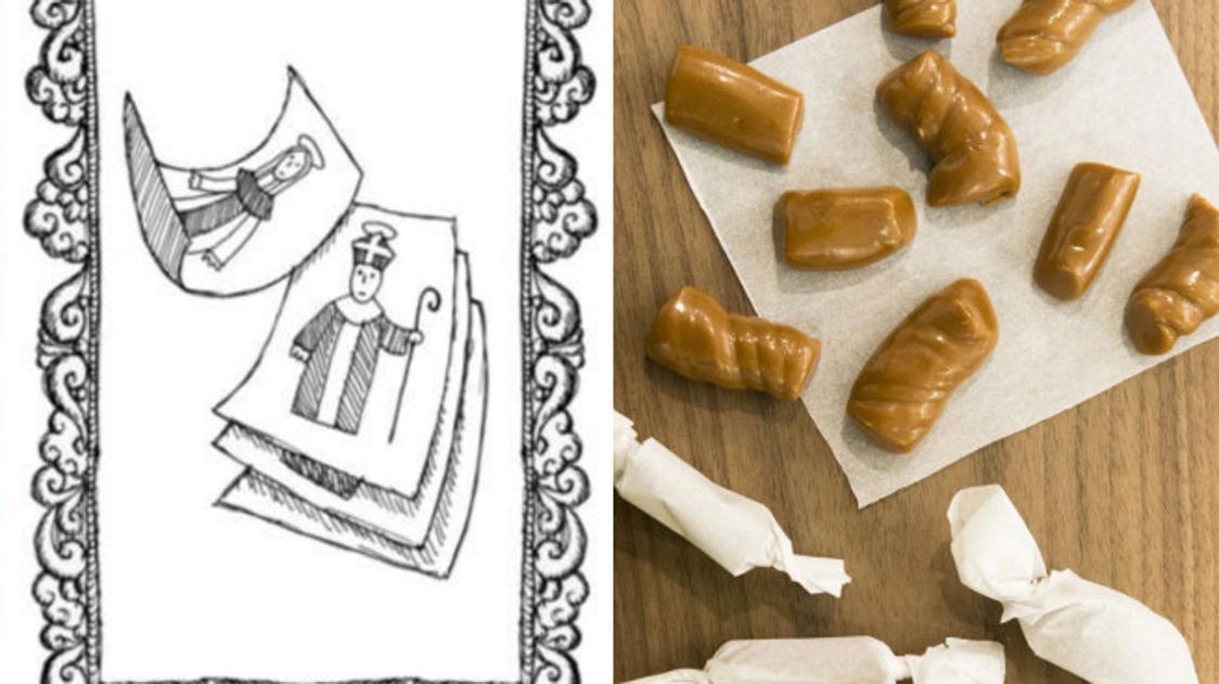 «Tire» di santa Caterina, le caramelle per chi è in cerca di marito