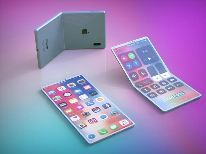 iPhone pieghevole, arriva nel 2022? Apple inizia i test con Foxconn
