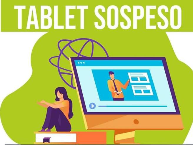 Una mamma crea il «tablet sospeso» per gli studenti senza un computer
