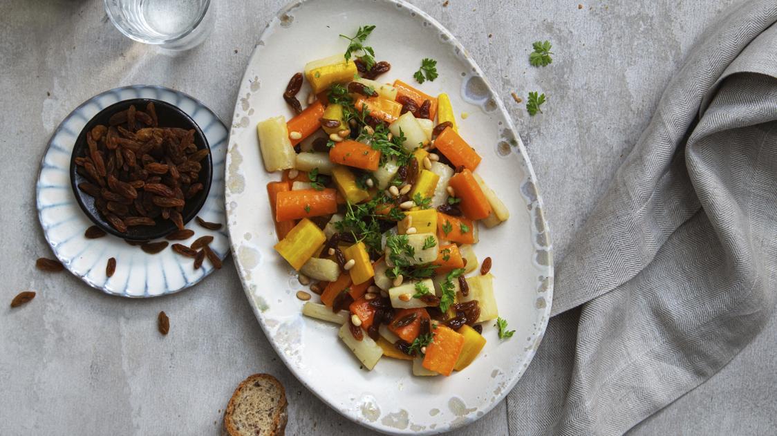 Scorzonera e carote colorate