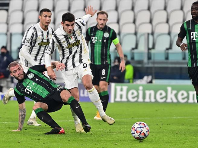 Juventus-Ferencvaros 2-1    Morata nel recupero la ribalta    Pirlo è agli ottaviLazio-Zenit 3-1    re Immobile e Parolo