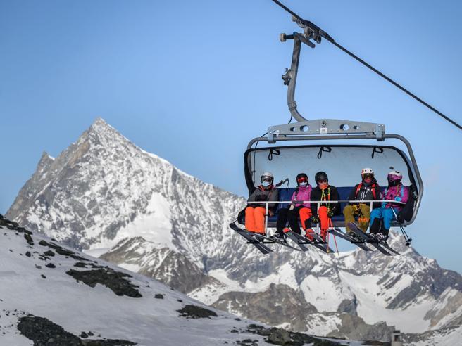 A  Saint Moritz solo 200 turisti sulla funivia, pochi gli italiani