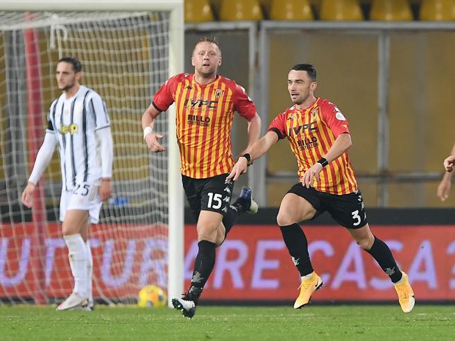 Benevento-Juventus 1-1: perle di Morata e Letizia, senza Ronaldo la Signora non va