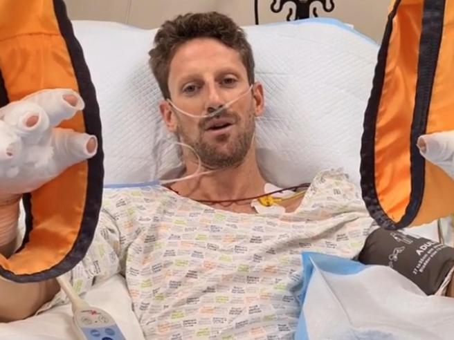 Grosjean dopo l'incidente in Bahrein: «Ho visto la morte in faccia. Ora vivo una rinascita»