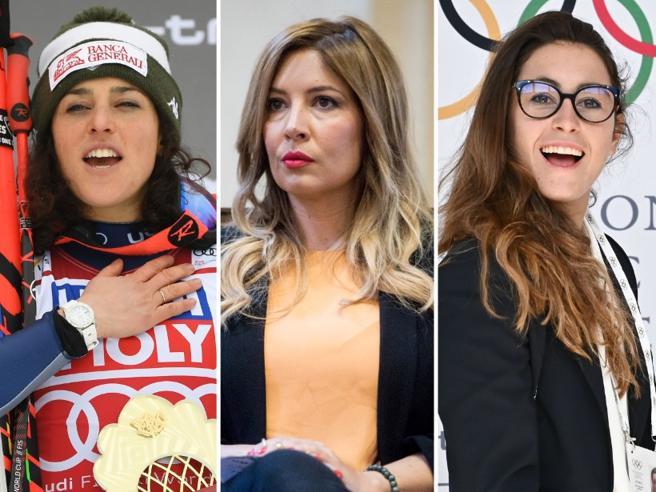 Selvaggia Lucarelli attacca Sofia Goggia e Federica Brignone: «Bulle fra i bulli»