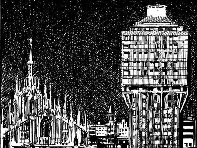 Mellone, il mondo spiegato a china dal grande illustratore del «Corriere»