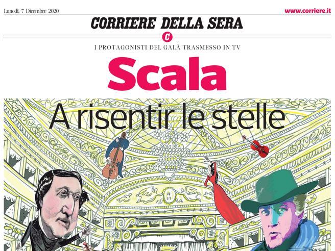 Scala, dalla prima in tv al backstage, un dorso gratis con «Corriere»