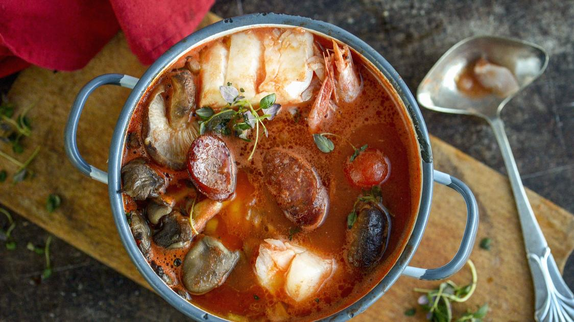 Il caldaro, la zuppa di pesce povero dell'Argentario