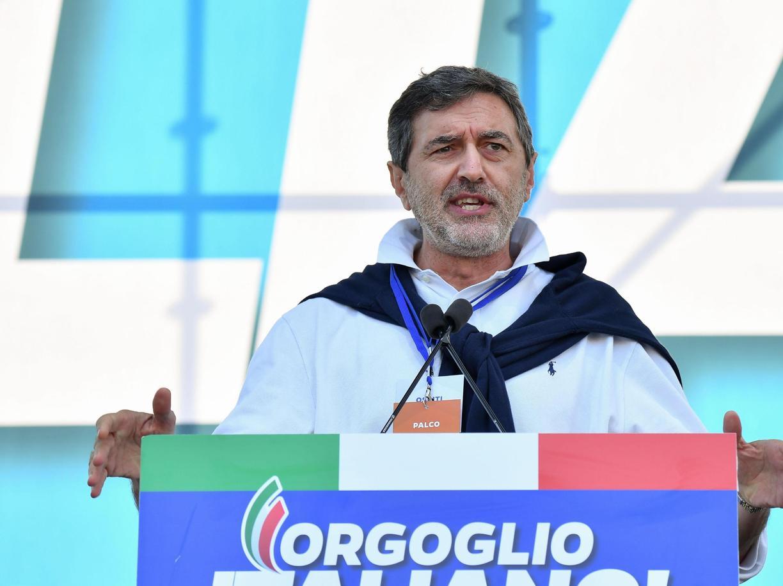 Marco Marsilio, governatore dell'Abruzzo (Ansa)