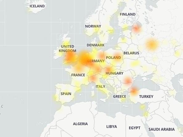 La mappa delle segnalazioni per YouTube