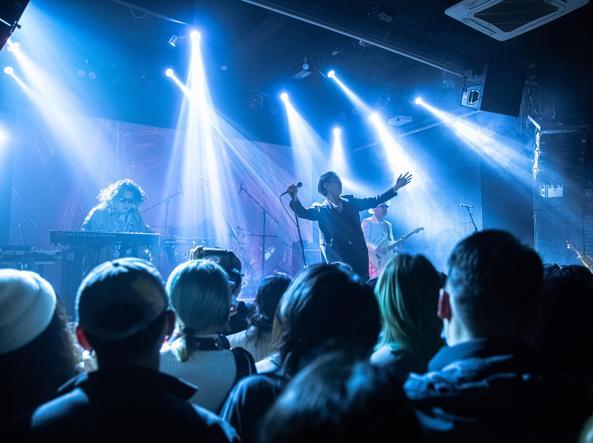 Un concert à Wuhan, le 30 décembre 2020 (photo Eba)