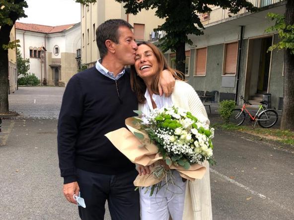 جورجیو گوری با کریستینا پارودی (56) ، متولد 1995 و دارای سه فرزند است