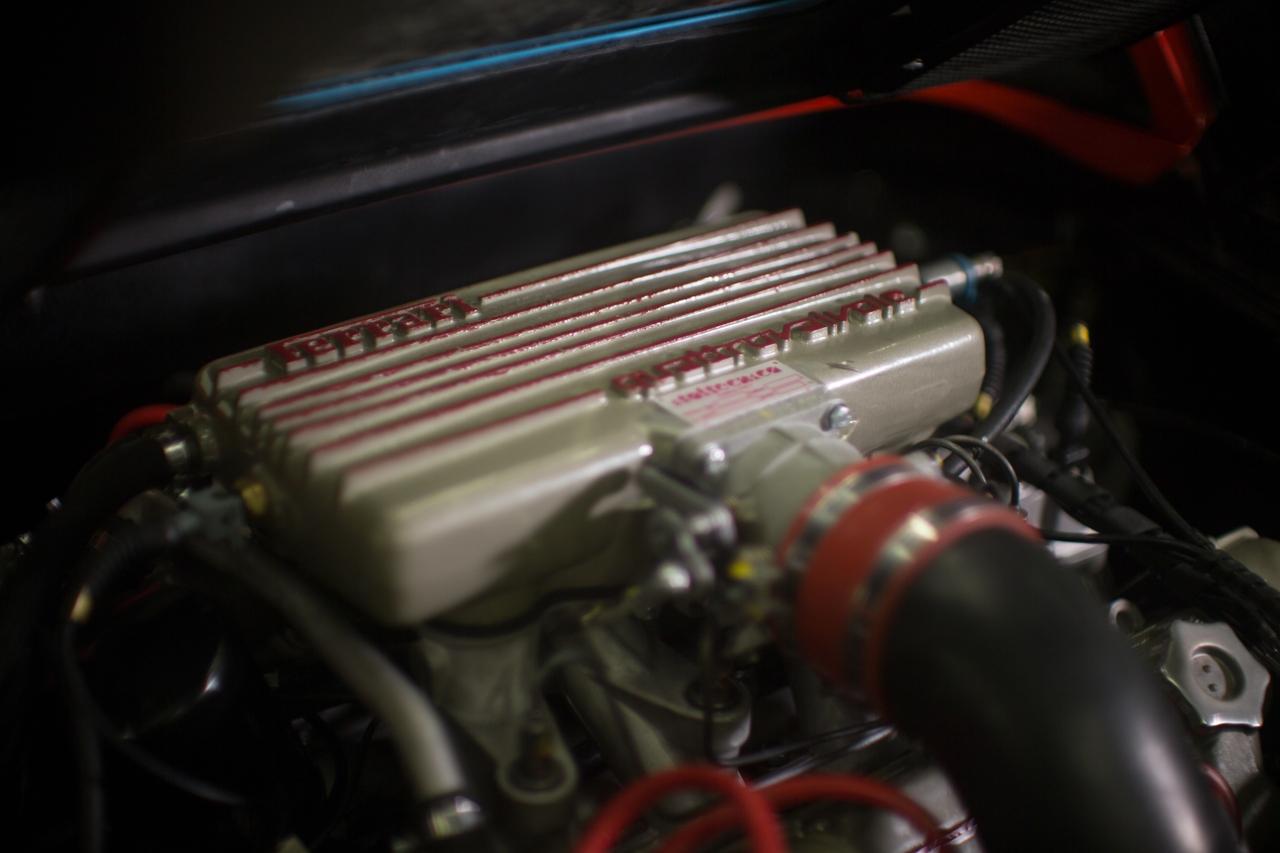 مگنوم PI فراری 308 GTS در حال تولد دوباره است