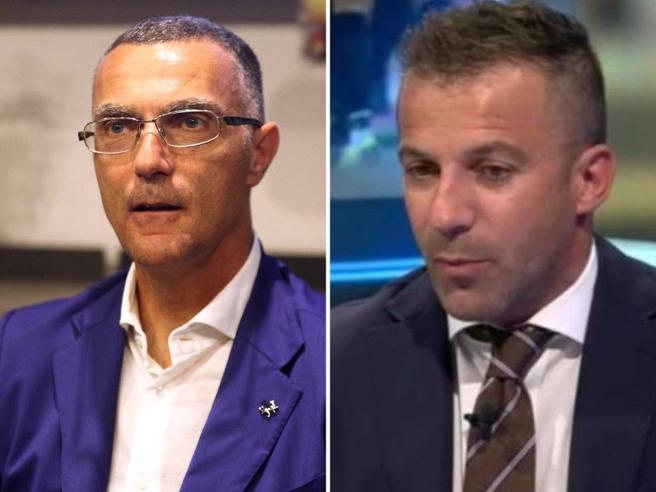 Bergomi-Del Piero, scontro in diretta. «Troppa pressione sull'Inter». L'ex Juve: «Hanno la squadra per vincere»