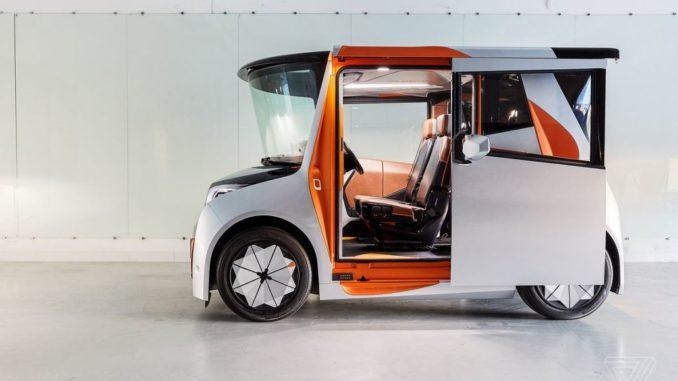 وسیله نقلیه الکتریکی Reds که توسط Chris Bangle طراحی شده است