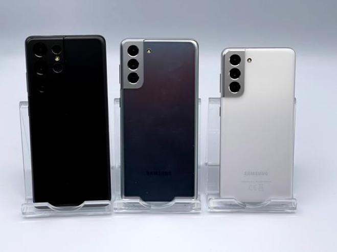 Samsung Galaxy S21, S21 Plus e S21 Ultra ufficiali: caratteristiche, prezzi, uscita italiana e prime impressioni