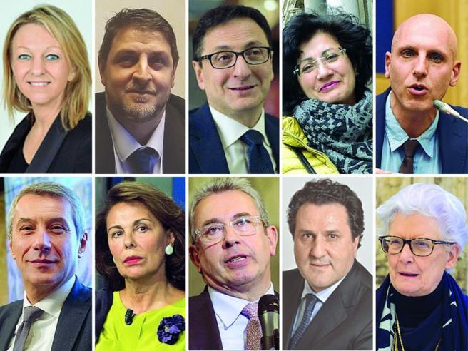 I negoziatori al «mercato» di Palazzo Madama: otterremo la fiducia, ma con meno di 161 voti
