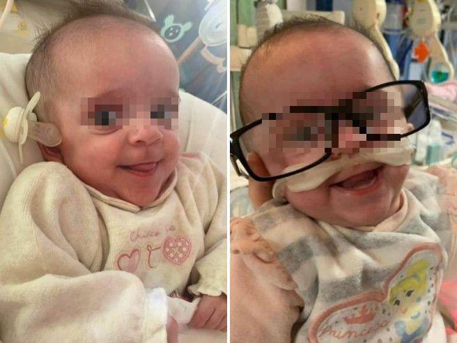 Nata prematura mentre la madre era in coma: salva la piccola Vittoria