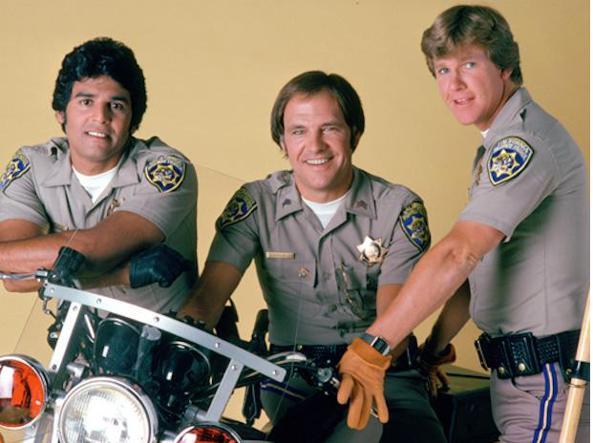 Erik Estrada, Robert Pine e Larry Wilcox