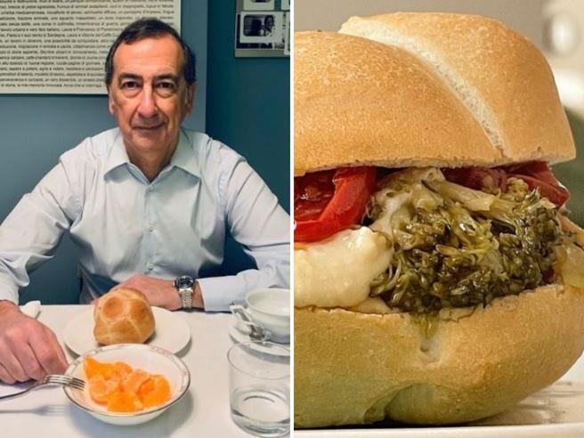 Sala ispira Marco Bianchi: «Ecco la mia michetta all'hummus e broccoli»