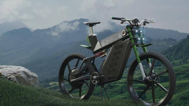 Terra: la prima e-bike fotovoltaica