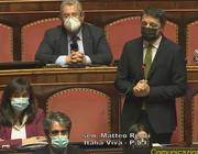 Matteo Renzi durante l'intervento