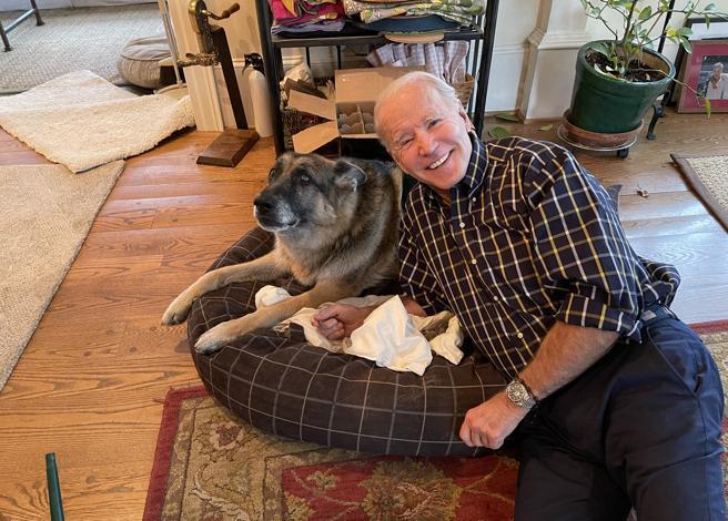 Joe Biden, l'insediamento alla Casa Bianca di Major: è il primo cane adottato da un presidente Usa