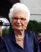 لیلیانا سگر (عکس Gerace / LaPresse) ، بازمانده هولوکاست ،