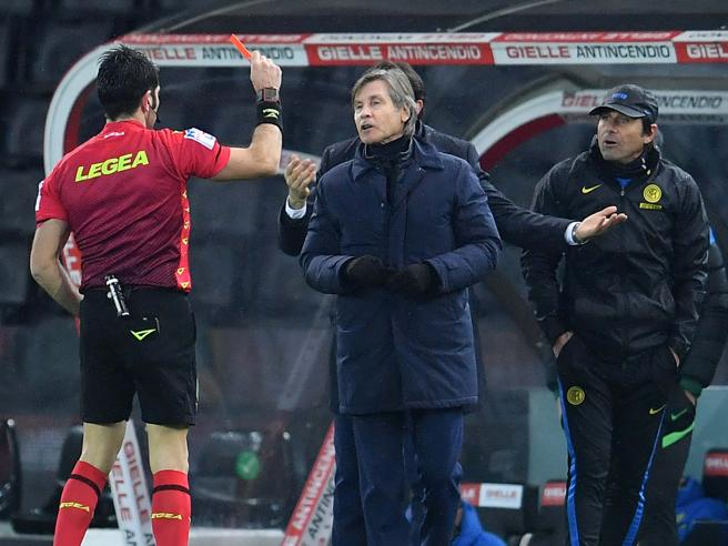 Inter, Conte all'arbitro Maresca: «Sei sempre tu!». «Bisogna accettare il risultato anche se non si vince»