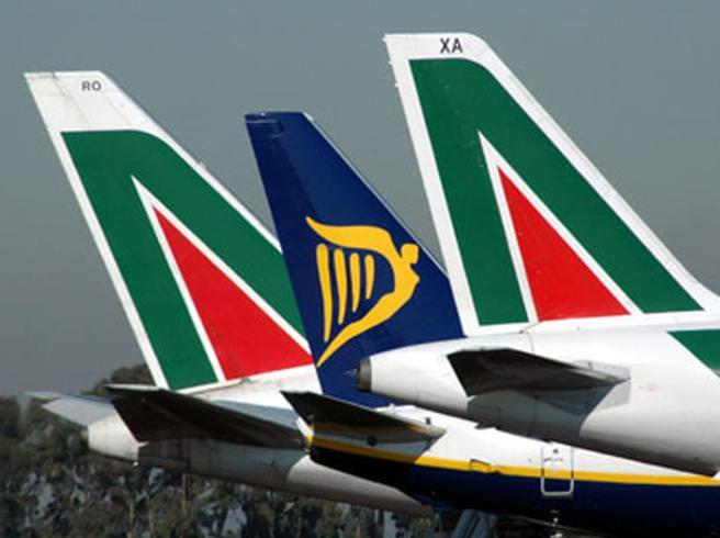 Alitalia, l'interesse di Ryanair per gli slot di Linate e Fiumicino