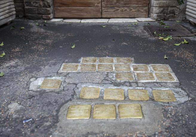 Quelle «pietre»davanti alle casedei deportati