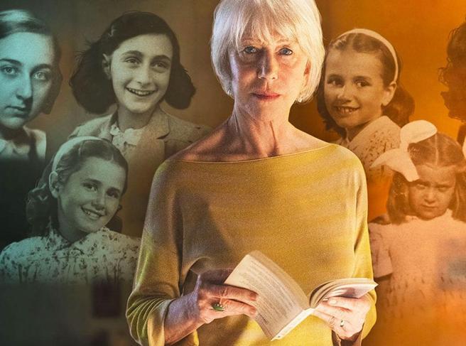 Helen Mirren e la lettura asciutta del diario di Anne Frank