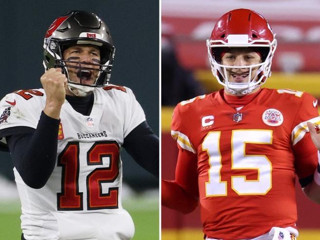 Super Bowl 2021, è Brady vs. Mahomes: Tampa Bay Buccaneers-Kansas City Chiefs è la sfida più bella