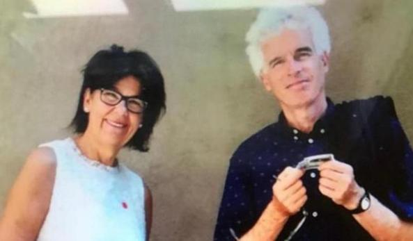 Laura Pearcelli e Peter Newmire