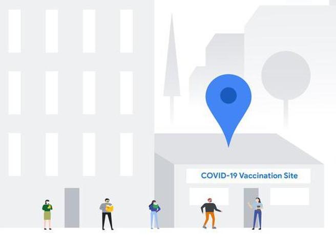 Google Maps ci dirà dove sono i centri autorizzati per il vaccino anti-Covid