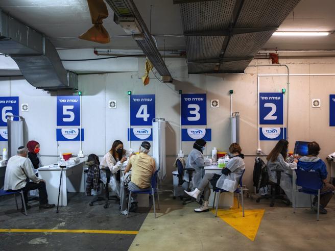 Laboratorio Israele: vaccinato uno su tre. I primi effetti sugli over 65: contagi e ricoveri in picchiata