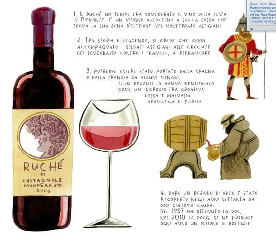 Ruché, il vino piemontese che racconta il Novecento italiano