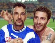 Baggio and, on the right, Bachini