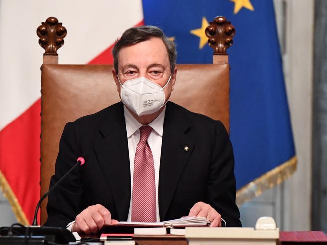 Governo, Draghi dà la linea ai ministri: mettere il Paese in sicurezza. Il governo sarà ambientalista
