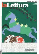 La copertina de «la Lettura» #482 firmata dall'artista belga Kasper Bosmans (1990)