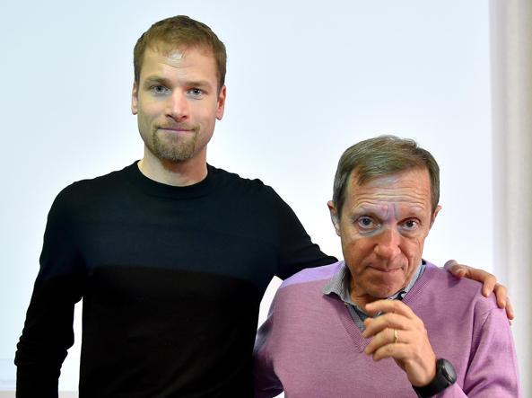 Schwazer with Sandro Donati (Ansa)