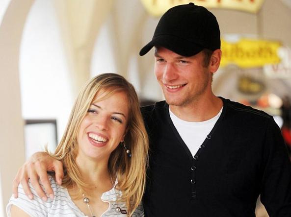 Alex Schwazer with Carolina Kostner