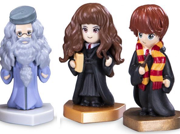 Alcuni personaggi della collezione