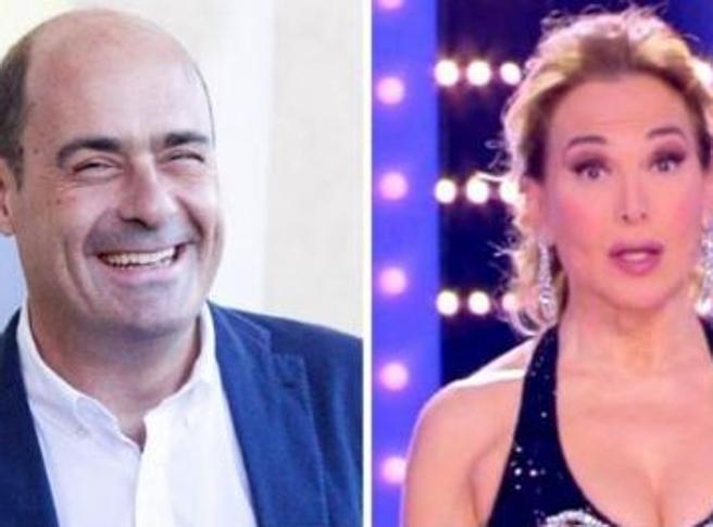 Nicola Zingaretti twitta a favore di Barbara D'Urso: polemiche sui social