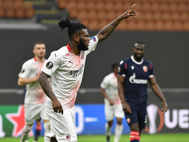 Il Milan va agli ottavi dopo l'1 1 con lo Stella Rossa  (ma quanta fatica)