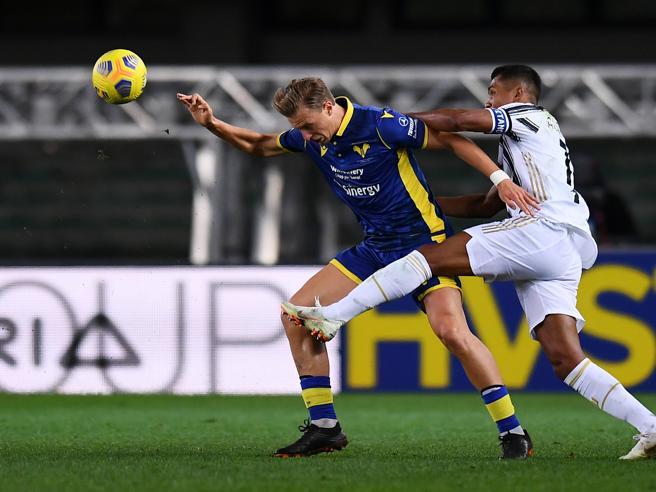 Verona-Juventus 1-1: a Ronaldo risponde Barak, pali per Dimarco e Lazovic