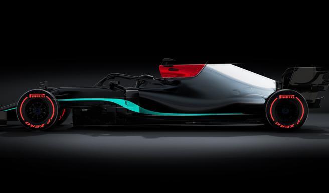 Nuova Mercedes W12 F1 2021, torna l'argento nella colorazione con il nero anti-razzismo voluto da Hamilton