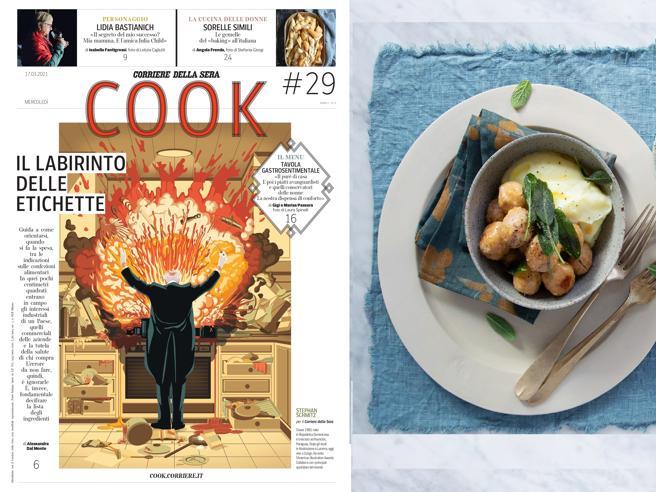 Cibo&sentimento, Lidia Bastianich e l'inchiesta sulle etichette: Cook in edicola il 17 marzo